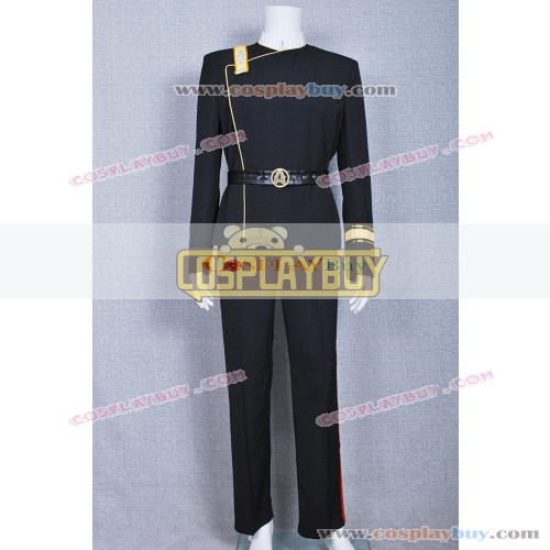 Star Trek The Wrath Of Khan Starfleet Black Uniform