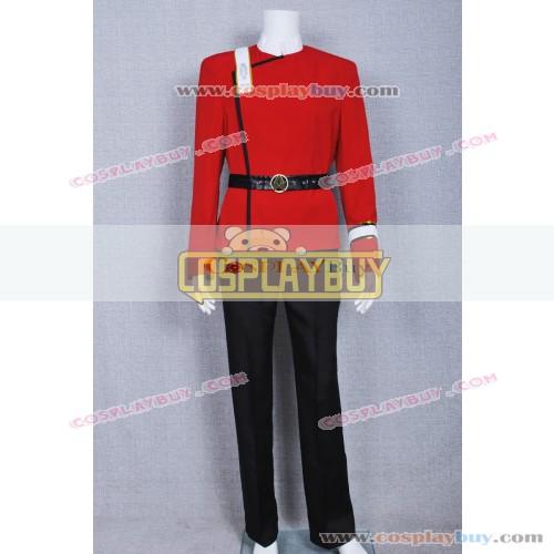 Star Trek II: The Wrath of Khan Costume Starfleet Uniform
