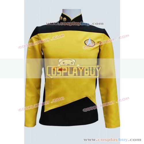 Star Trek TNG Gold Yellow Shirt