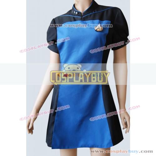 Star Trek TNG Teal Skant Black Blue Uniform