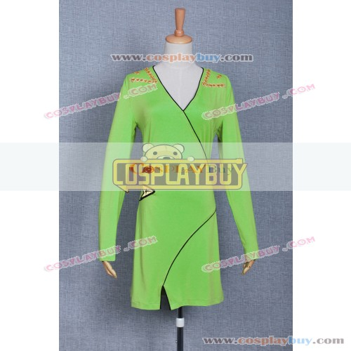 Star Trek TOS Kirk Green Female Dress