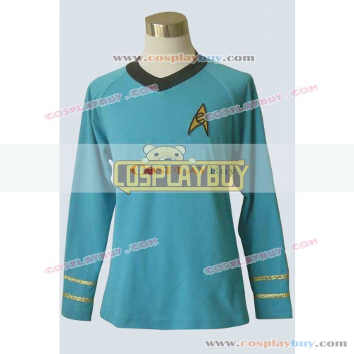 Star Trek TOS Spock Science Uniform