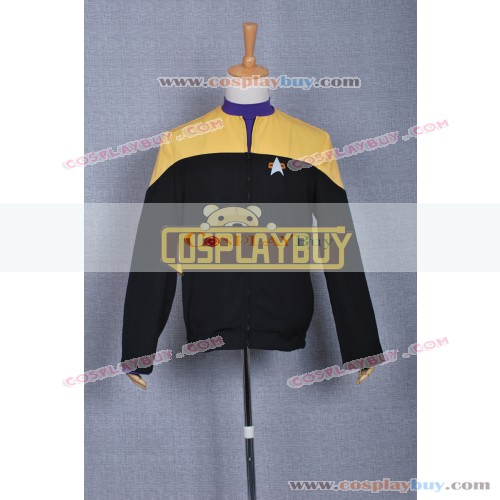 Star Trek Voyager Yellow Black Uniform