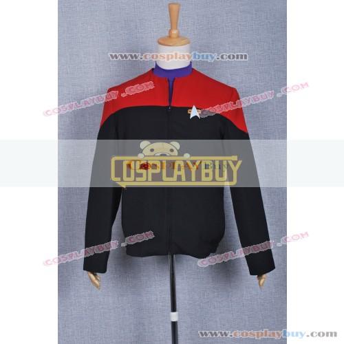 Star Trek Voyager Red Black Uniform