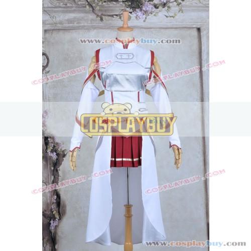 Sword Art Online Cosplay Asuna Yuuki Dress Costume