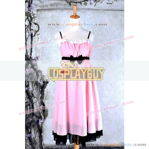 Sword Art Online Cosplay Asuna Pink Dress