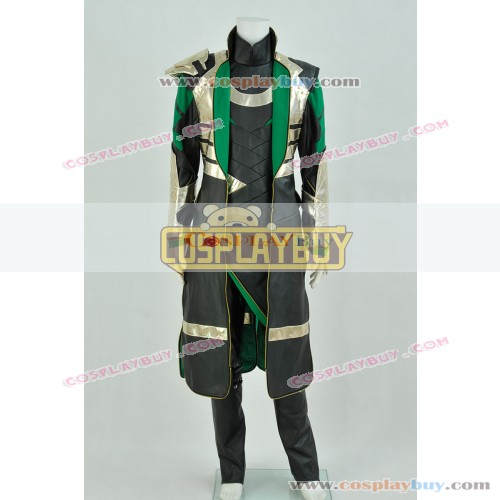 Thor 2 The Dark World Loki Laufeyson Costume Full Set
