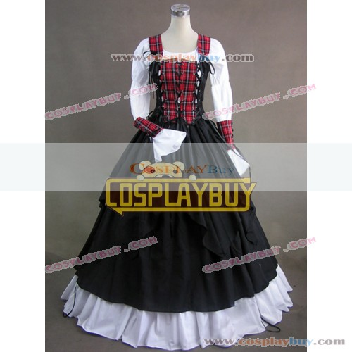 Victorian Lolita Renaissance Pirate Wench Gothic Lolita Dress