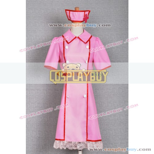 Vocaloid 2 Cosplay Hatsune Miku Love Ward Nurse Dress