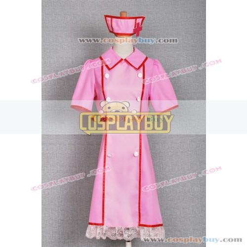 Vocaloid 2 Cosplay Hatsune Miku Love Ward Nurse Dress