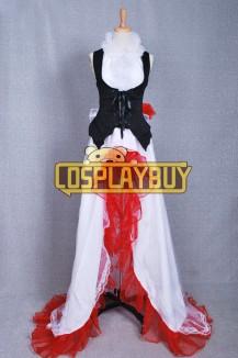 Vocaloid 2 Cosplay White Camellia Meiko Dress