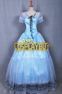 Alice In Wonderland Alice Blue Gorgeous Dress