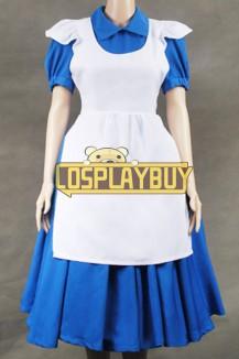 Alice In Wonderland Blue Maid Dress