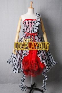 "Alice In Wonderland Alice Red ""Um"" Dress"