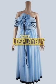 Alice In Wonderland Alice Blue Flower Dress