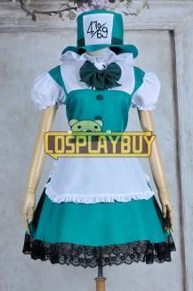 Alice In Wonderland Mad Hatter Maid Dress