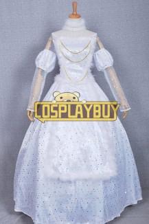 Alice In Wonderland White Queen Dress
