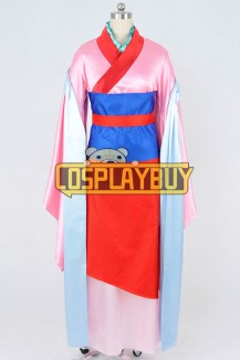 Ballad Of Mulan Cosplay Hua Mulan Dress