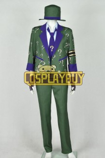 Batman The Riddler Cosplay Suit