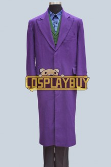 Batman The Joker Costume Full Set Halloween