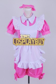 Black Butler Cosplay Alois Trancy Pink Maid Dress