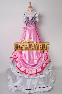 Black Butler Cosplay Ciel Phantomhive Pink Dress