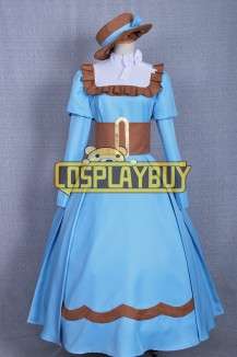 Black Butler Cosplay Elizabeth Blue Dress