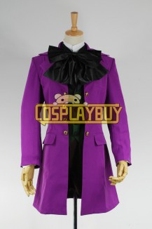 Black Butler Cosplay Alois Trancy Costume Purple