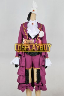 Black Butler Cosplay Alois Trancy Purple Uniform