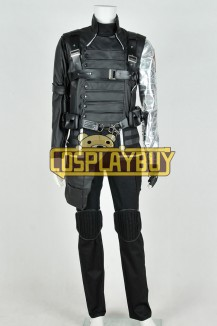 Captain America 2 Bucky Barnes Uniform
