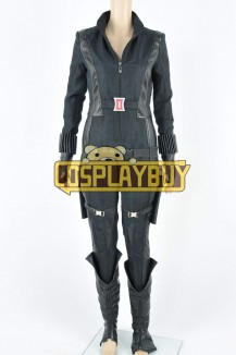 Captain America: The Winter Soldier Costume Natasha Romanoff Jumpsuit