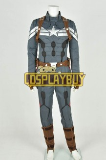 Captain America: The Winter Soldier Costume Steve Rogers Uniform New