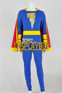 Captain Marvel Cosplay Captain Marvel Jr. Freddy Freeman Jumpsuit