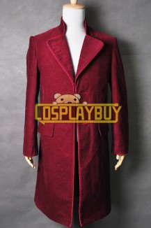 Charlie And The Chocolate Factory Willy Wonka Red Coat