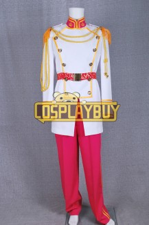 Cinderella Prince White Uniform