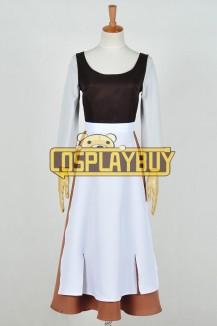 Cinderella Cosplay Gray Girl Maid Dress