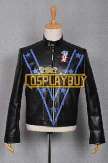 Daredevil Motorcycle Evel Knievel Black Jacket