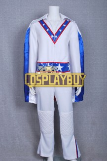 Daredevil Motorcycle Evel Knievel Blue Star Costume Flag Version