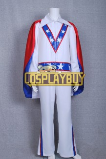 Daredevil Motorcycle Evel Knievel Blue Star Costume
