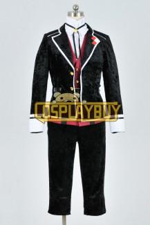 Diabolik Lovers Cosplay Kanato Sakamaki Silk Velvet Uniform