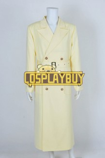 Dick Tracy Yellow Trench Coat