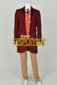 Django Unchained Costume Monsieur Calvin J Candie Trench Coat