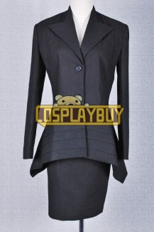 Doctor Who Black Dress Suit