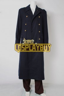 Torchwood Captain Jack Harkness Black Trench Coat