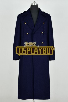 Doctor Who Jack Harkness Dark Blue Trench Coat