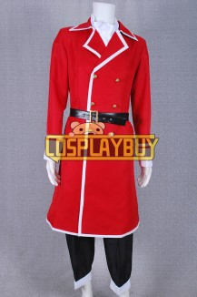 Fairy Tail Cosplay Freed Justine Costume