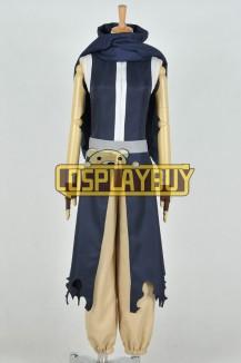 Fairy Tail Cosplay Gajeel Redfox Uniform