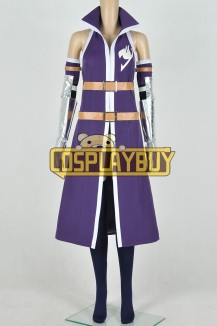 Fairy Tail Cosplay Erza Scarlet Purple