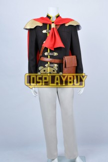 FF Type 0 Cosplay Machina Kunagiri Uniform