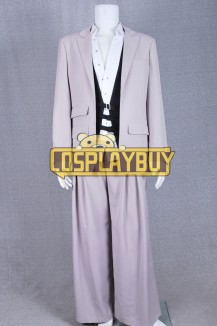 FF7 Cosplay Rufus Shinra Costume